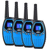 Walkie Talkies for Kids Adult 22 Channel GMRS Two Way Radios 3 Miles