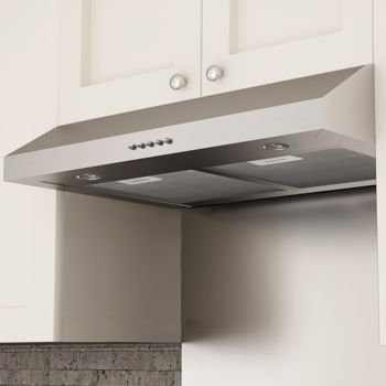 Highly Resistant 430 Stainless Steel Construction Aluminum Layer Ancona Slim  D 30u0026quot; Under Cabinet Stainless