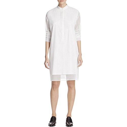 donna-karan-womens-mesh-overlay-illusion-shirtdress-white-m