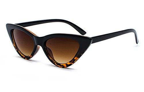 Superb Eye (FEISEDY Small Cat Eye Sunglasses Acetate Frame Polycarbonate Lens B2248)