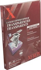 Removable Stripe Copier Transparencies, Clear (100 Sheets/Box) by Xerox