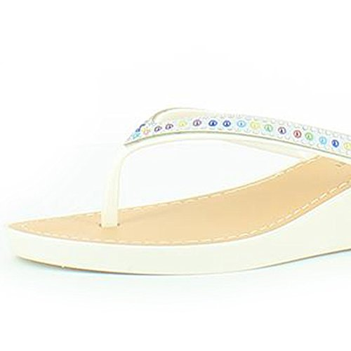 Heavenly Feet - Sandalias de vestir de Material Sintético para mujer blanco