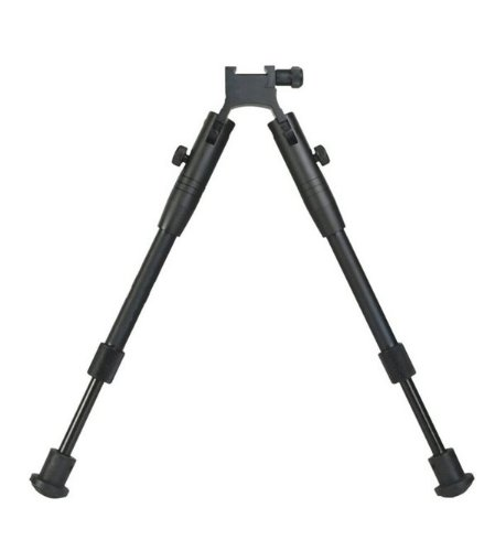 Ultimate Arms Gear Deluxe Tactical High Profile Folding & Height Adjustable Aluminum Bipod For Weaver Picatinny Rifle Rail Base Or Handguard