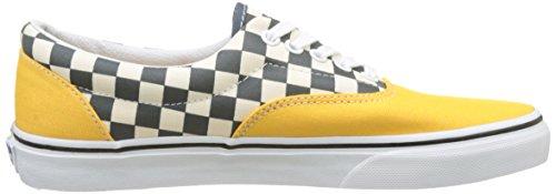 Vans Men's Ua Era Low-Top Sneakers Yellow (2-tone Check Citrus/True White) best sale for sale sale for cheap cheap clearance L4RSMBYwD
