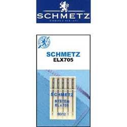 Schmetz ELX705 Needles - Size 80/12