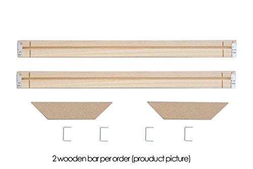 DIY Wood Frames Bars Wall Art Canvas Frames Stretcher Strips Bar Gallery...