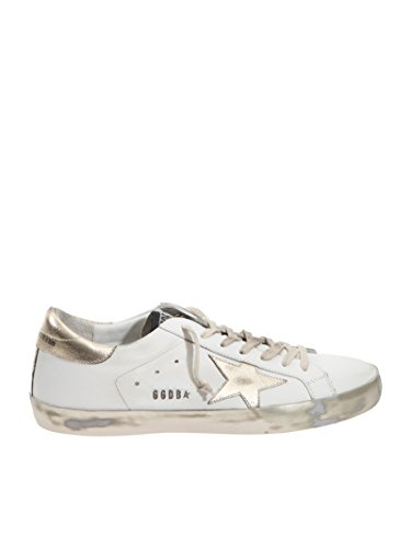 Golden Goose Sneakers Uomo GCOMS590E37 Pelle Bianco