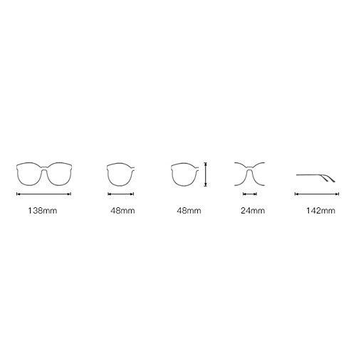Eyewear Lunettes Silverboxwhitemercury Rétro Sun Unisexe Metal Polarized C8Tq1Xw