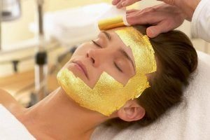 Facial Masks Anti-wrinkle Gold Leaf Sheets 100%Real Gold By GaanZaLive36 1.5