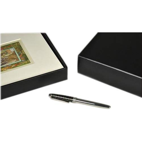 Archival Methods 17.25 x 22.25 x 1.37 Onyx Portfolio Box with Black Lining by Archival Methods (Image #4)