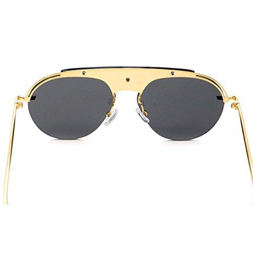 b08eef192d Gafas De Sol Retro Redondas Pequeñas Marco De Metal Protección UV Gafas De  Hombre Y Mujer