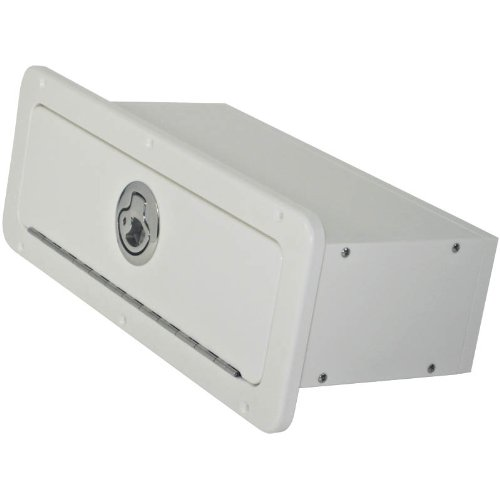 Boat Glove Boxes (Boat Glove Box with Integrated Seal (Arctic White))