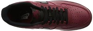 Nike Men's Air Force 1 Low '07 Basketball Shoe Team Red/Black 9