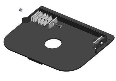 Quick Connect Capture Plate - Demco 825 Series Models - 331751