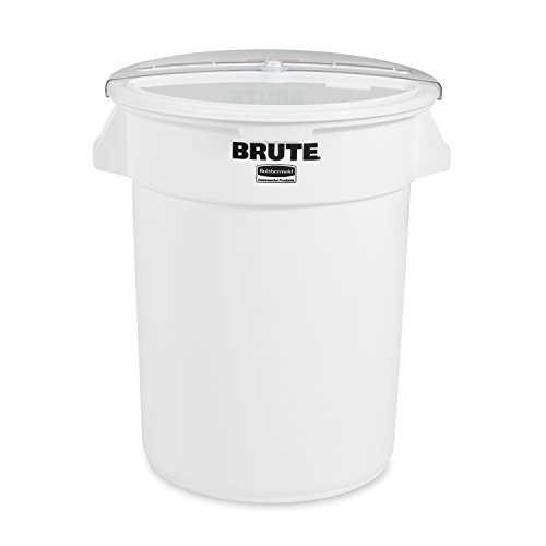 Rubbermaid Commercial ProSave Food Storage Container with Lid and Scoop, 32 Gallon