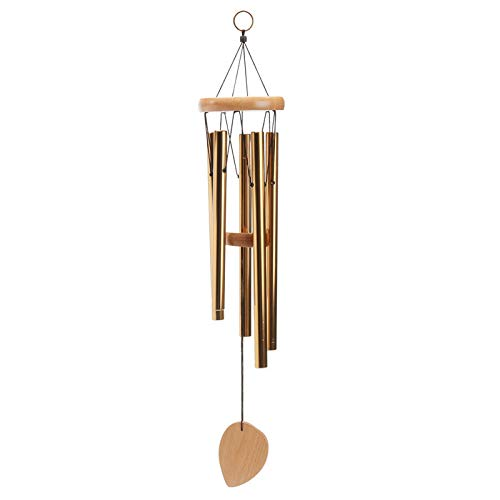 Chapel Ornament - 5 Tubes Wind Chimes Home Chapel Ornament Wind Chime Gift Kids Toys - Musical Instruments Music Box