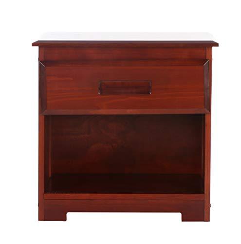 Discovery World Furniture Nightstand, Merlot (Discovery World Dresser)