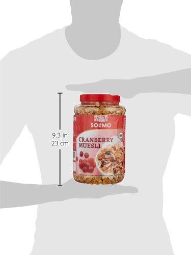 Amazon brand - Solimo Cranberry Muesli, 1kg 7 313YLP53azL