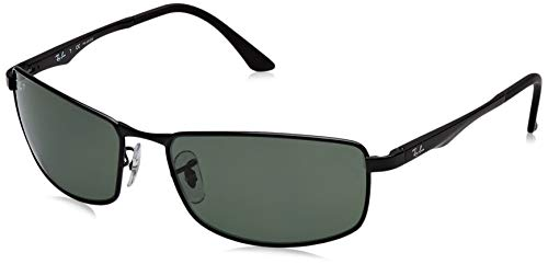 Ray-Ban Sunglasses - RB3498 / Frame: Black Lens: Green Polarized
