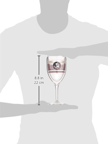 Tervis 1230118 Wine Glasses 9 oz Clear