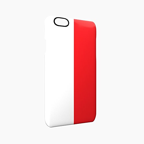 Flag of Monaco Glossy Hard Snap-On Protective iPhone 6 / 6S Case Cover