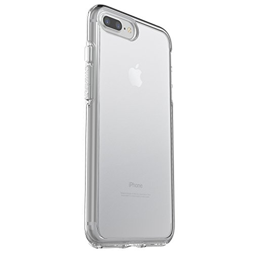 OtterBox SYMMETRY CLEAR SERIES Case for iPhone 8 Plus & iPhone 7 Plus (ONLY) - Frustration Free Packaging - CLEAR (CLEAR/CLEAR)