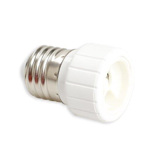 Starnearby Adaptador de bombilla LED E27 a GU10 E