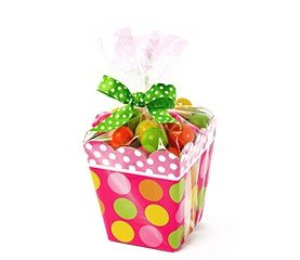 Clear Cello Bags for Sweet Treat Gable Boxes for Food Gift B