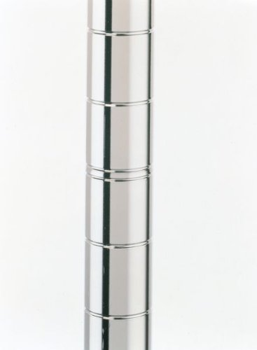 Metro 13P Metro Site Select Chrome Plated Steel Stationary Post, 1