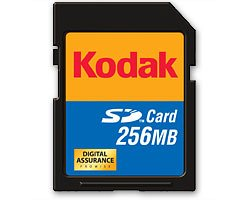 (Kodak SD Card 256 MB KPSD256SCS (Retail Package))