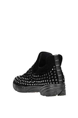 Mcglcak000004065i Chaussures De Femme Pinko Noir Velours Skate nRxvqz1
