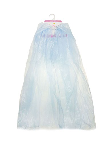 White Witch Narnia Costume (Great Pretenders Blue Princess Mesh Cape Dress-Up)