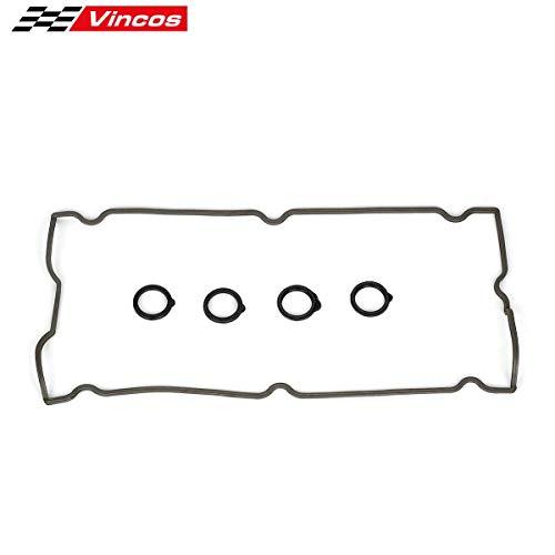 Vincos Cylinder Valve Cover Gasket Set Replacement For Chrysler/Dodge/Jeep 2.4L DOHC 01-09