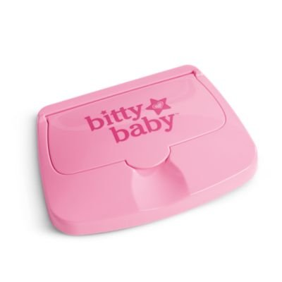 American Girl Bitty Baby - Bitty's Wipe Case for Dolls - Bitty Baby 2015: Toys & Games