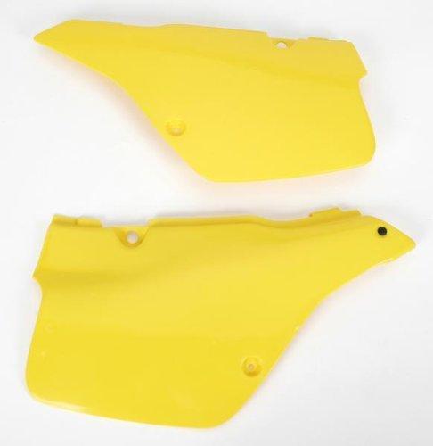 - Ufo Plastic Side Panels Yellow for Suzuki RM 125 89-92