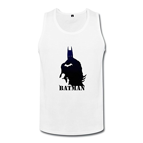 [ZHUYOUDAO Men's The Avengers Bruce Wayne Batman Costume Tank Top] (Hulkbuster Costume Cosplay)