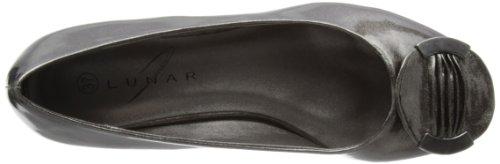 Lunar FLV547 - zapatos de vestir de sintético mujer gris - gris