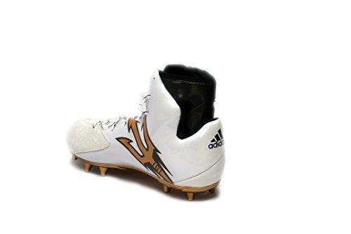 Adidas Mens Speciale Crazyquick 2.0 High Wide 4 Tacchetti Da Calcio Bianco / Core Nero / Rame Metallizzato