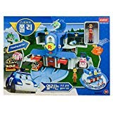 Academy Robocar Poli Headquarters Rescue Center Play Set Diecast figures Poli+Roi+Amber by Academy Models