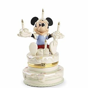 LENOX DISNEY Mickeys Birthday Surprise Treasure Box
