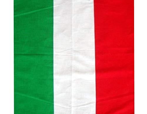 (BUNFIREs ONE Italy Flag Italian Bandana Bandanna Biker DURAG Head WRAP Scarf Large Size: 22 X 22)