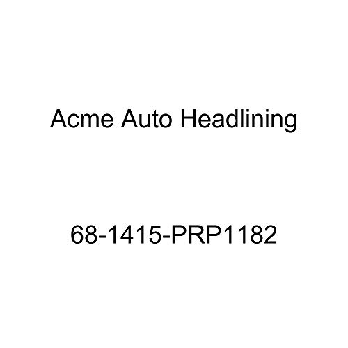 Acme Auto Headlining 68-1415-PRP1182 Blue Replacement Headliner (Chevrolet Impala 4 Door Hardtop 5 Bow)