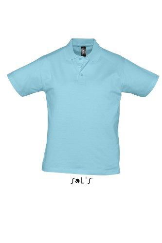 L538 Herren Poloshirt Presott, Atoll , Gr. XL