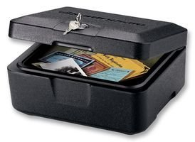 Sentry Safe Fire Safe Security Chest, 0.2 cu ft, Black (500)