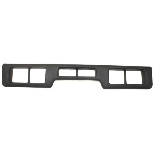 - Perfect Fit Group 9832 - F-Series Front Bumper Molding, Center, Plastic, Black, Xlt Model