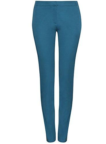 D'été Femme Bleu Oodji Ultra Basique Pantalon 6c00n xfqT10