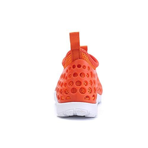 Scarpe Da Donna Annabelz Slip-on Aqua Mesh Fodera Scarpe Casual Arancione
