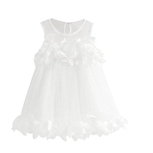 YJM Baby Girls Pageant Sleeveless Print Princess Dresses (3T, -