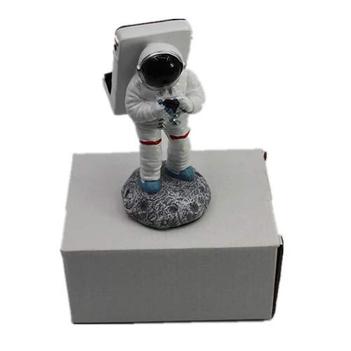 Dwhui Astronauta Mó vil Universal Telé fono Celular Soporte Soporte Escritorio Estació n De Carga Rack De Resina