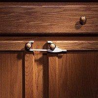 Amazon.com : KidCo Sliding Cabinet Lock - White : Cabinet Safety ...